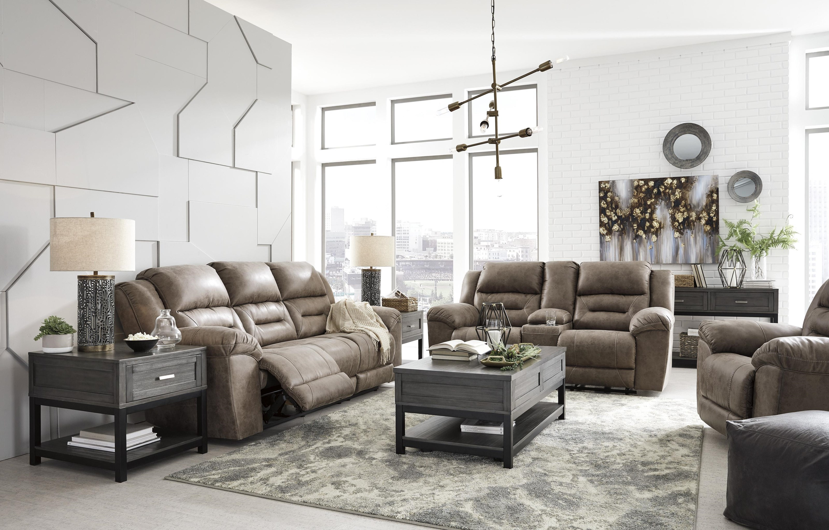 Stoneland Recliner Sofa and Recliner Set by Signature Design by Ashley at Sam Levitz Outlet