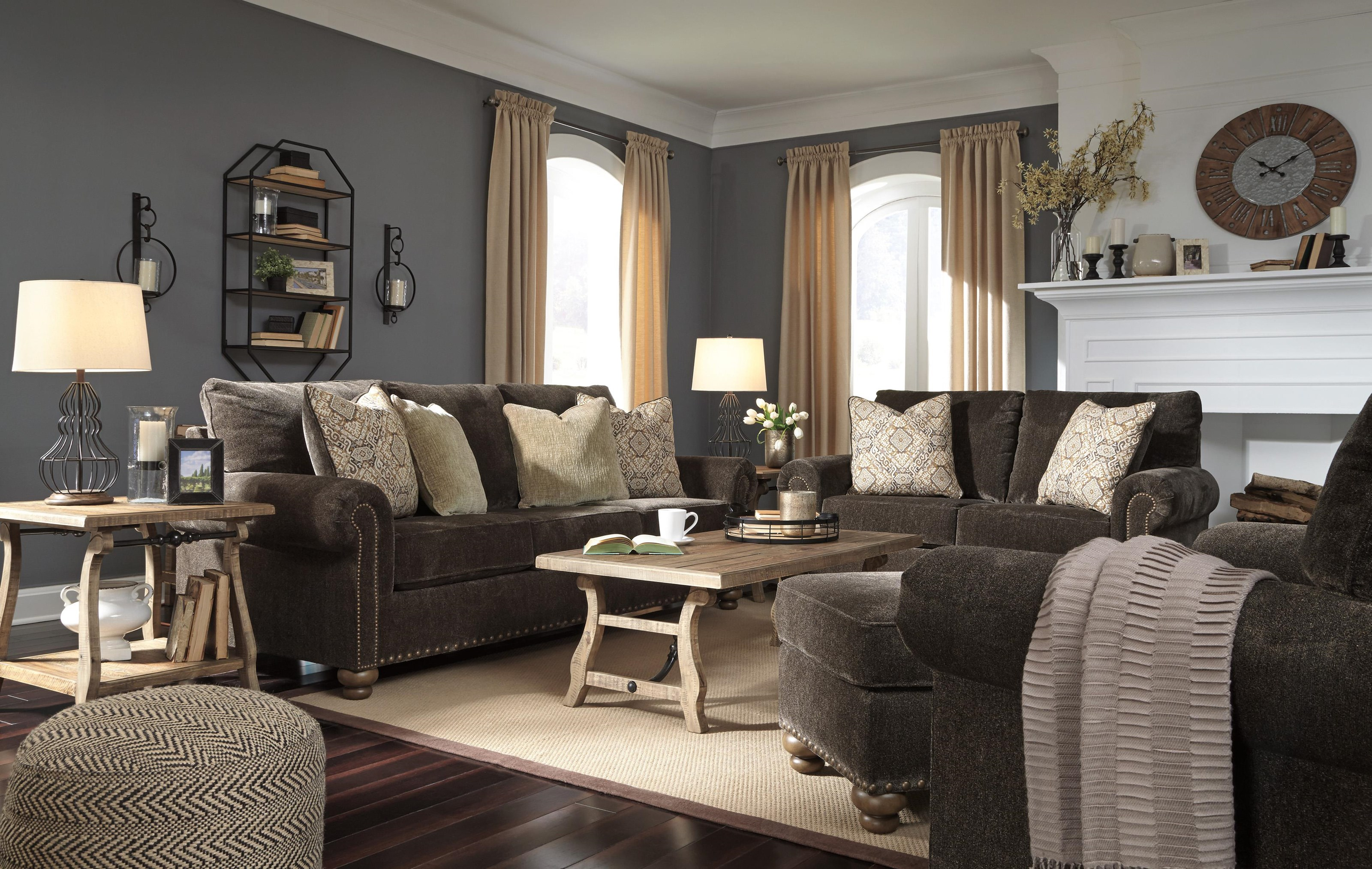 Stracelen Sofa, Chair and Ottoman Set by Signature Design by Ashley at Sam Levitz Furniture