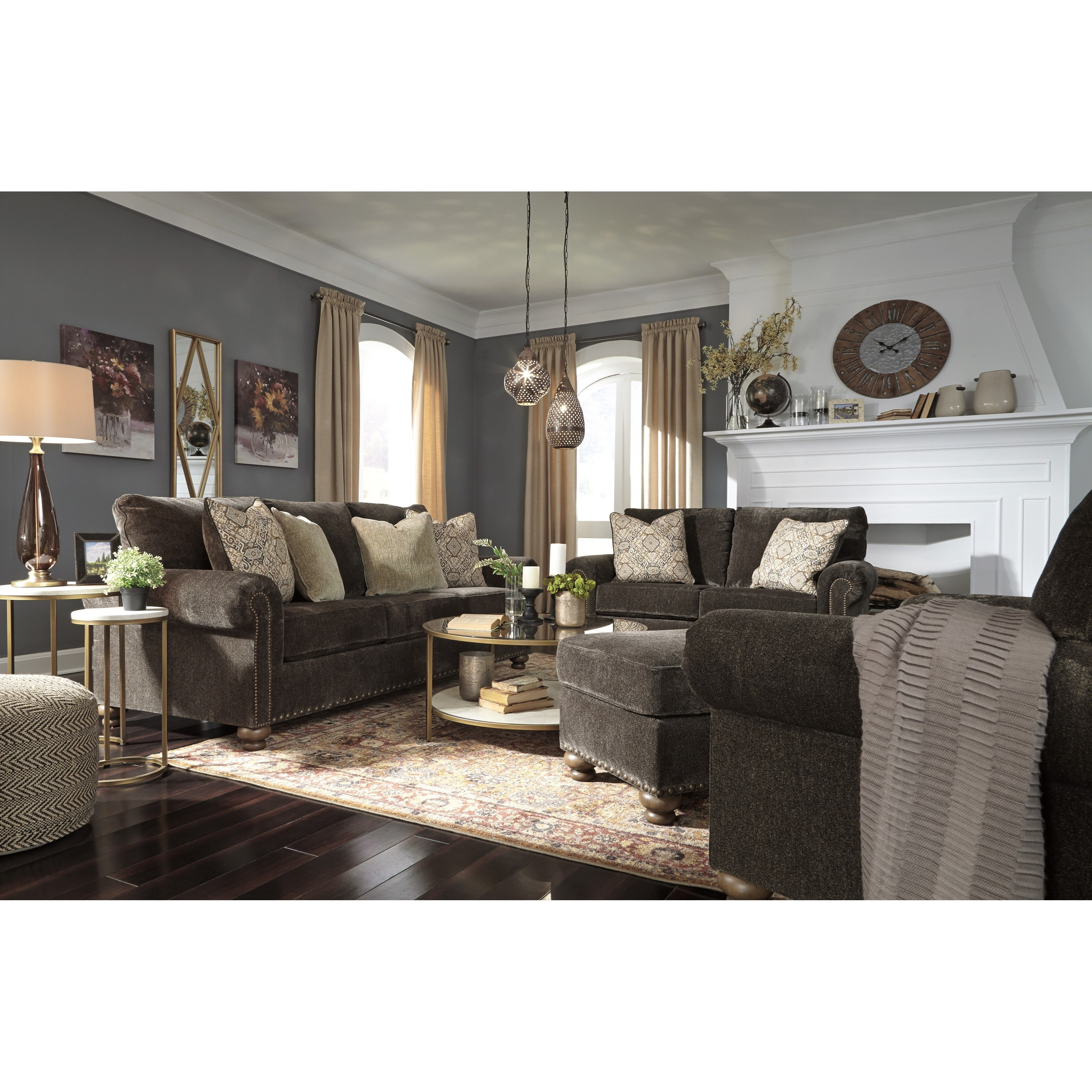 Stracelen Stationary Living Room Group by Ashley (Signature Design) at Johnny Janosik