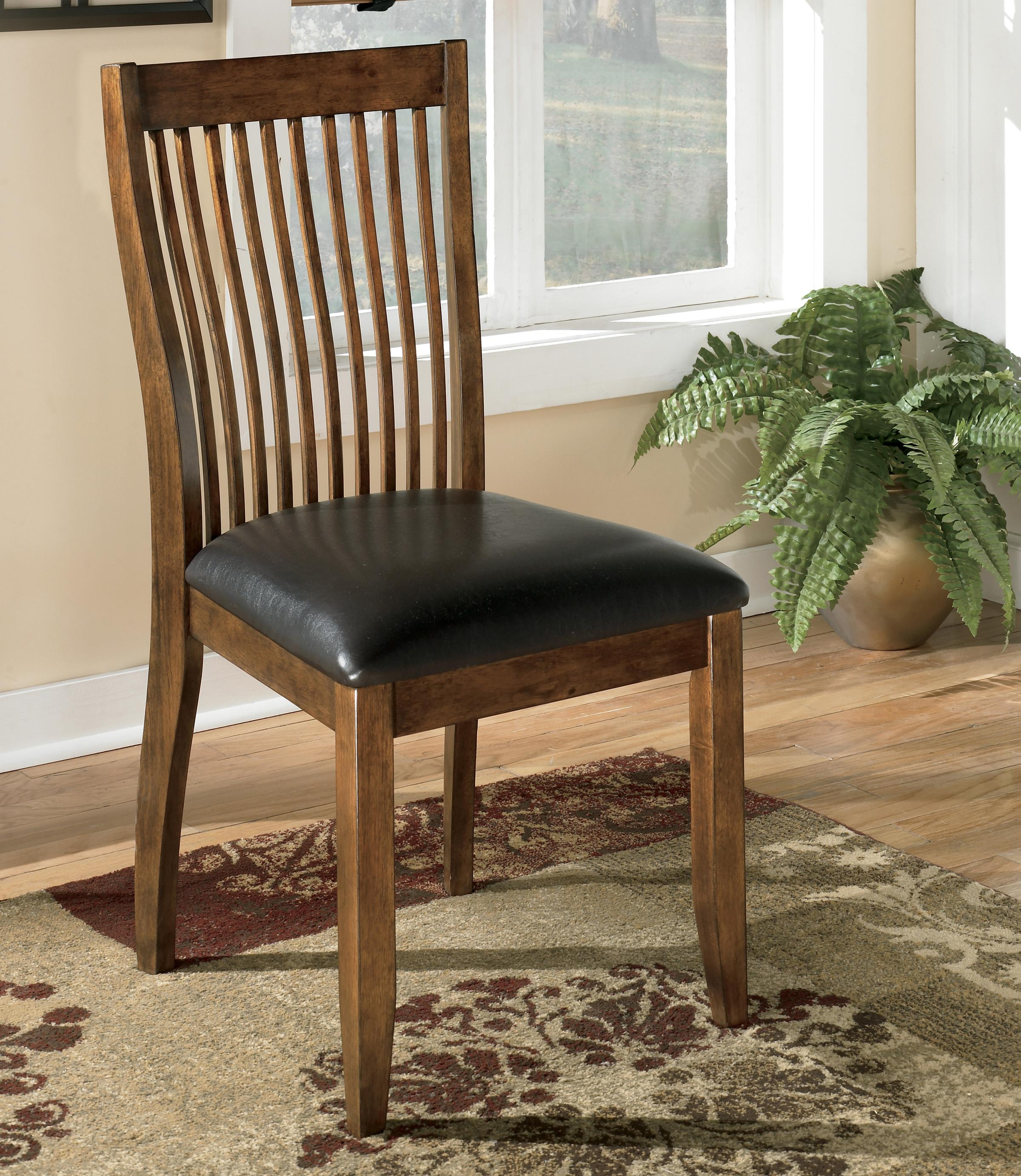 Stuman Dining Upholstered Side Chair by Signature Design by Ashley at Northeast Factory Direct