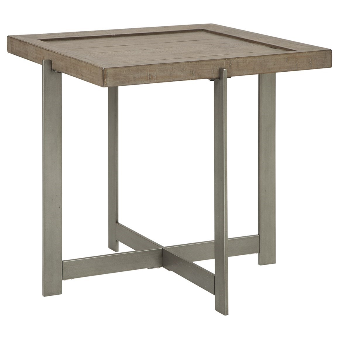 Krystanza End Table by Signature Design by Ashley at Beck's Furniture