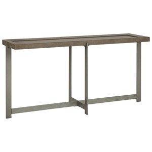Casual Console Table with Tray Top