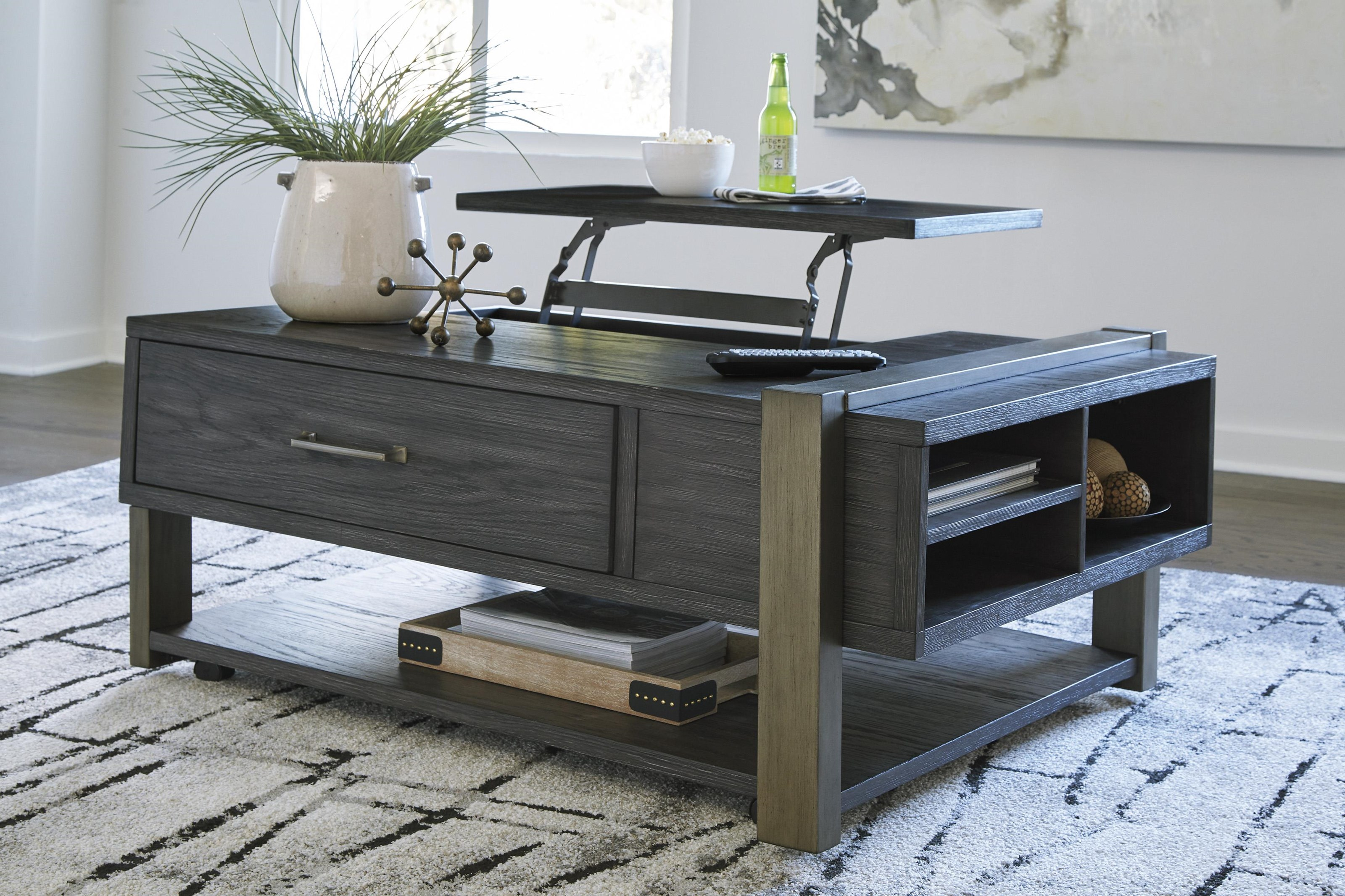 Forleeza 3 Piece Coffee Table Set by Signature Design by Ashley at Sam Levitz Outlet