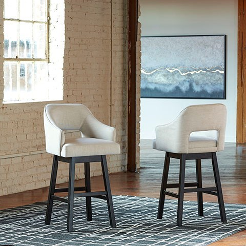 Tallenger Tall Bar Stool  by Signature at Walker's Furniture