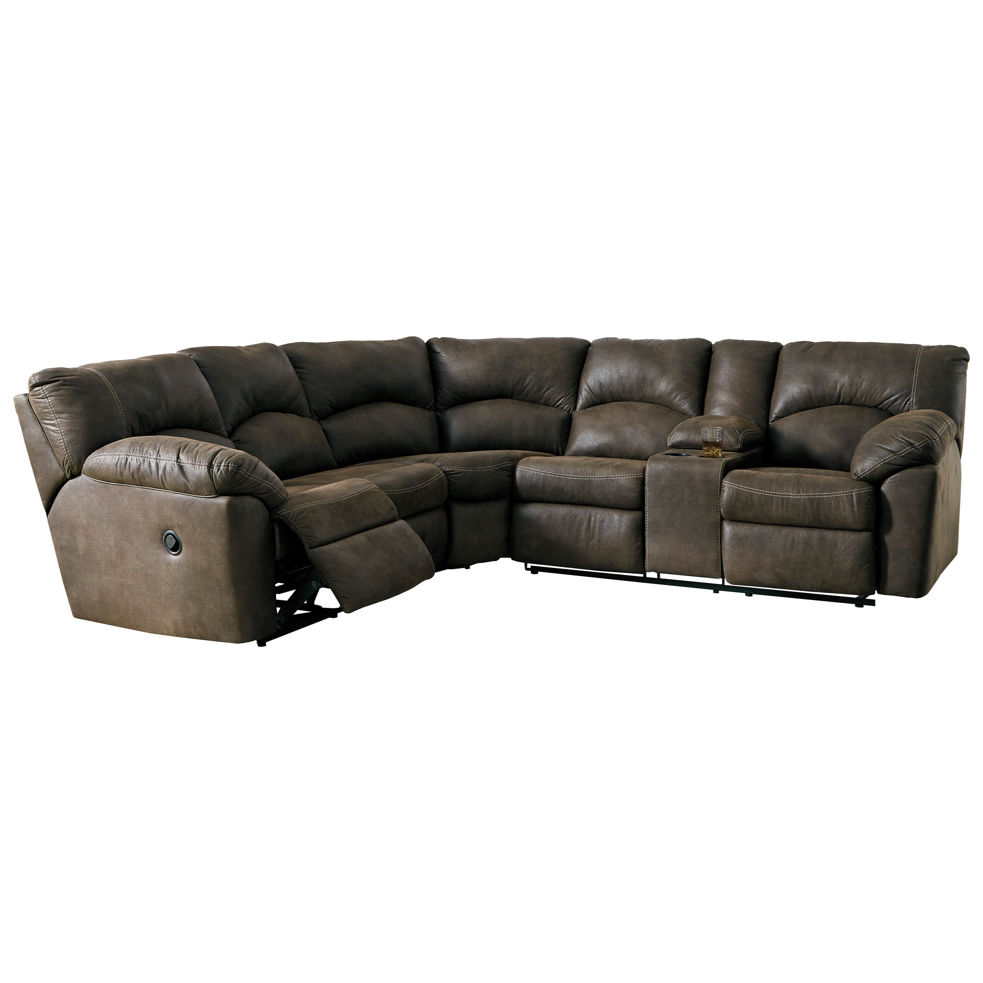 Tambo 2-Piece Reclining Corner Sectional by Signature Design by Ashley at Value City Furniture