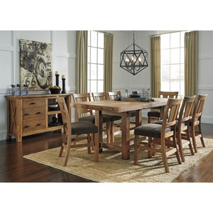 Signature Design by Ashley Tamilo Casual Dining Room Group