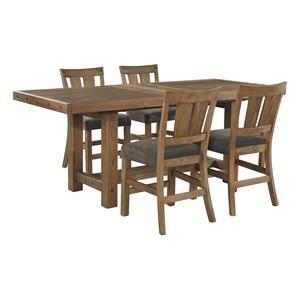 Tamilo 5 Piece Counter Extension Table Set