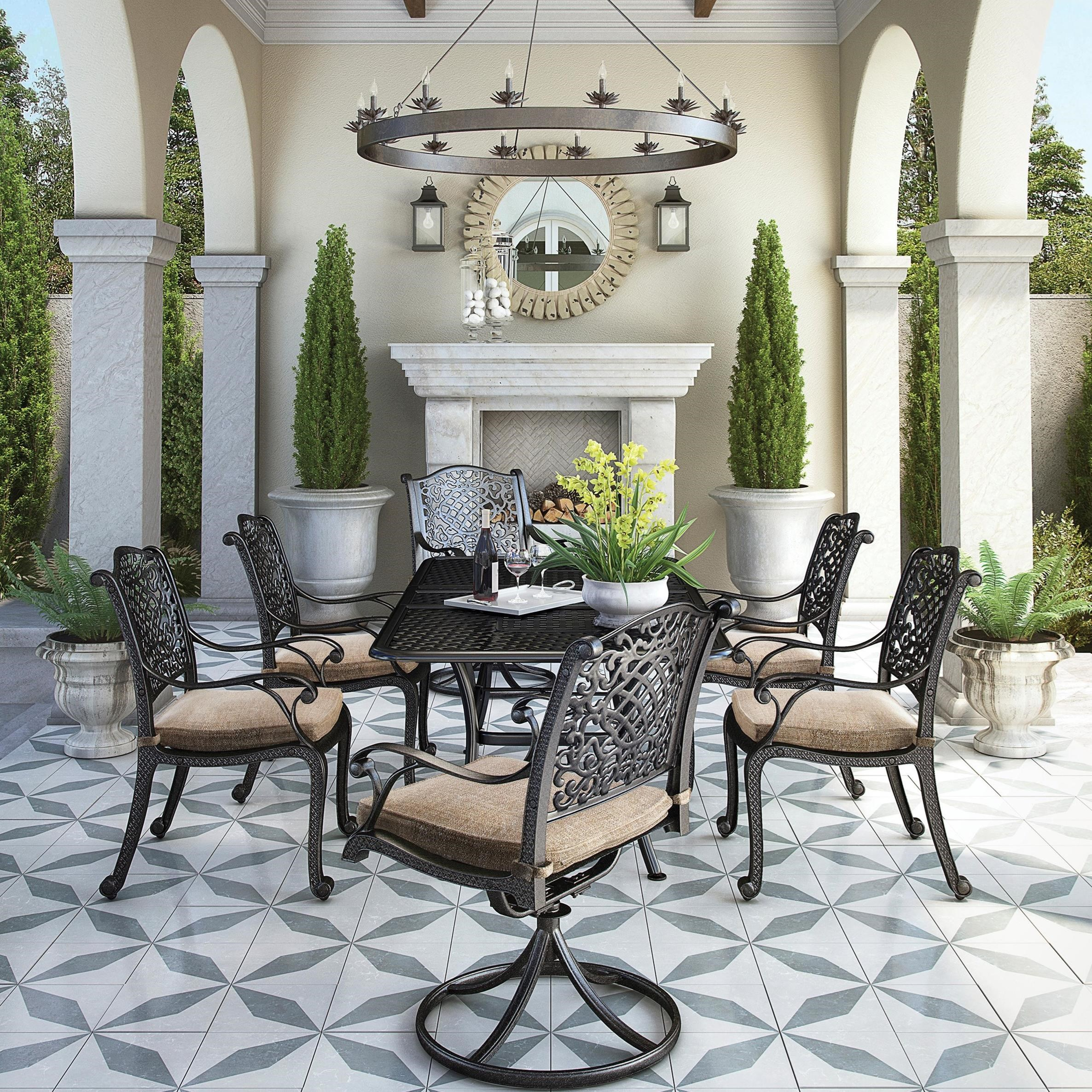 Tanglevale 7 Piece Outdoor Dining Set by Signature Design by Ashley at Lapeer Furniture & Mattress Center