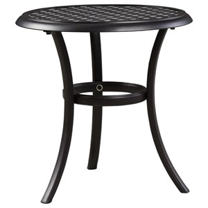 Signature Design by Ashley Tanglevale Outdoor Round End Table