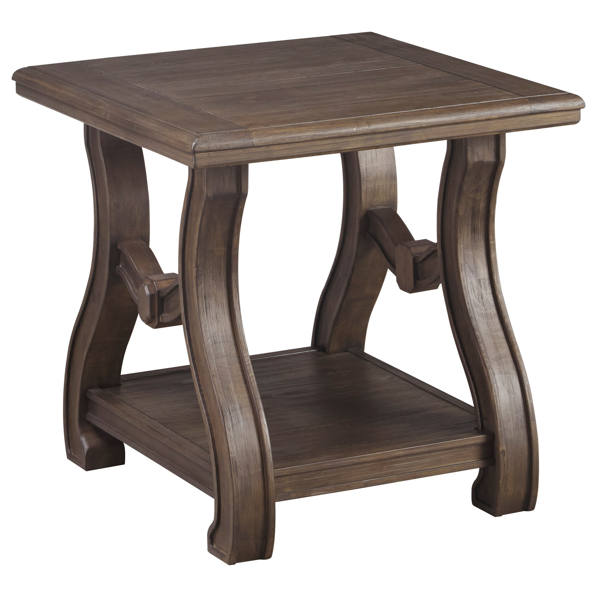 Tanobay Square End Table by Signature Design by Ashley at Pilgrim Furniture City