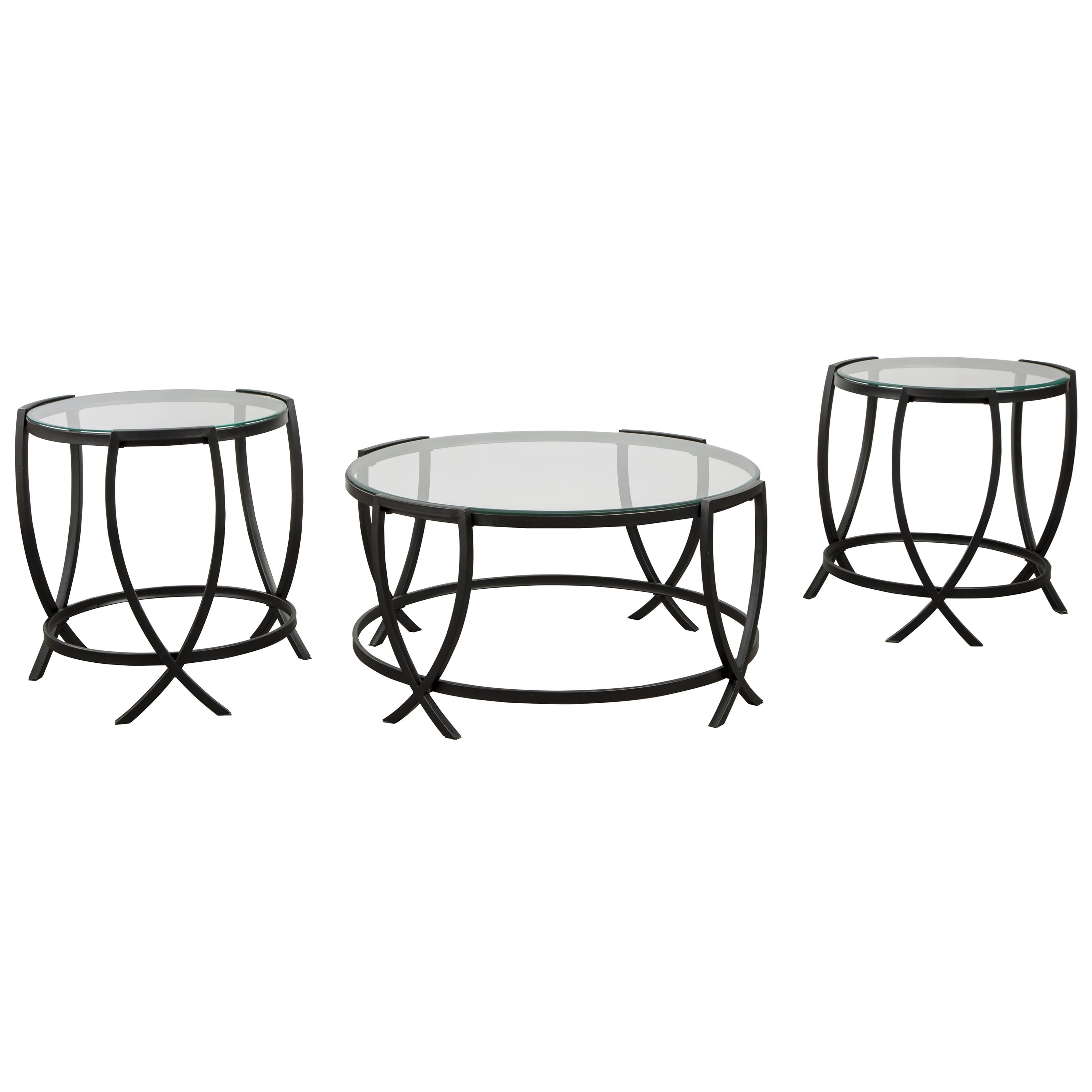 Tarrin Occasional Table Set by Signature Design by Ashley at Beck's Furniture
