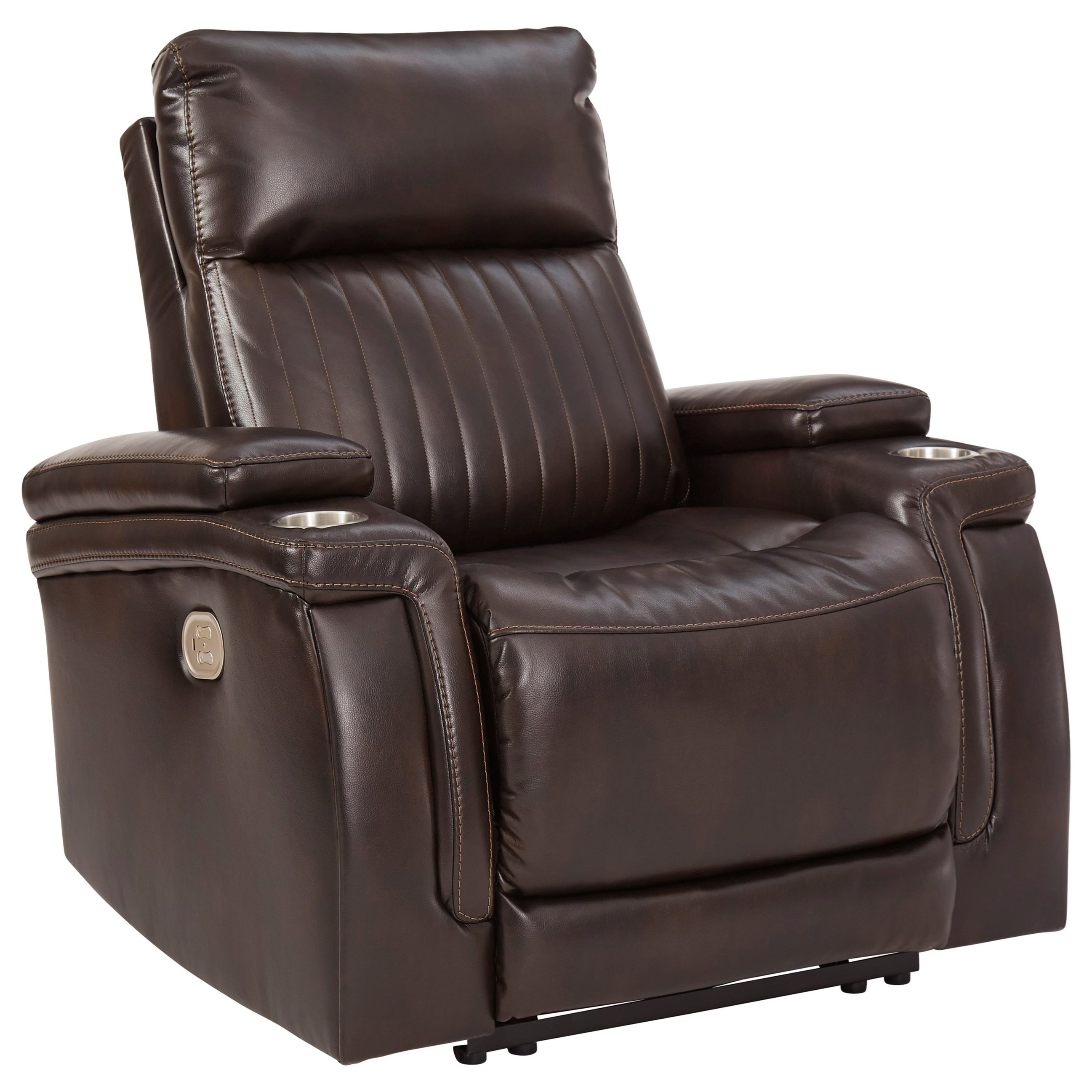 Team Time Power Recliner with Adjustable Headrest by Signature Design by Ashley at Value City Furniture