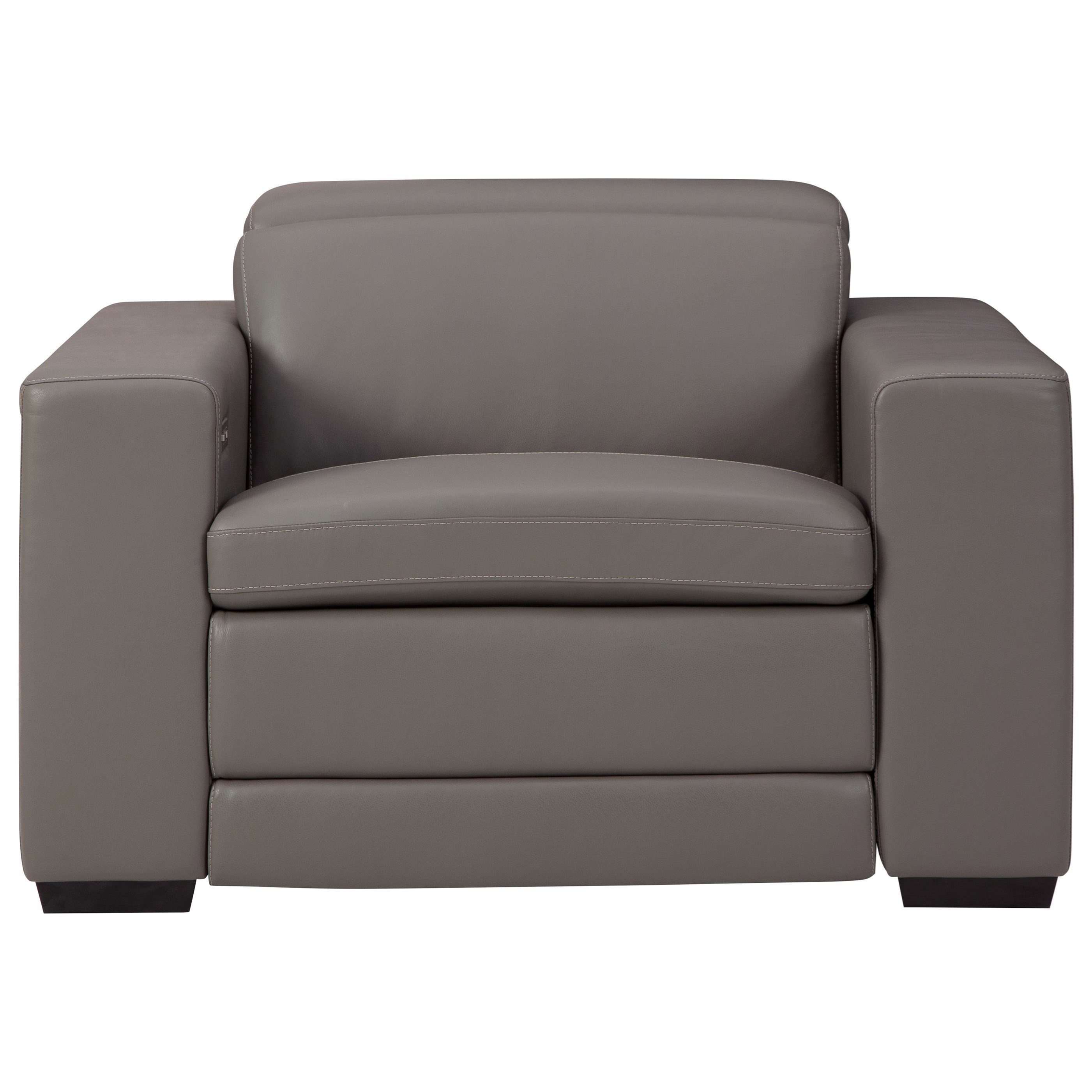 Texline Power Recliner w/ Adj Headrest by Signature Design by Ashley at Beck's Furniture
