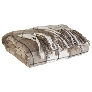 Signature Design by Ashley Throws Raylan - Brown Throw