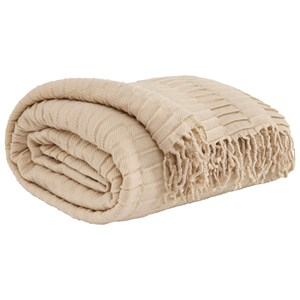 Signature Design by Ashley Throws Mendez - Sand Throw