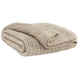 Signature Design by Ashley Throws Zaid - Natural Throw