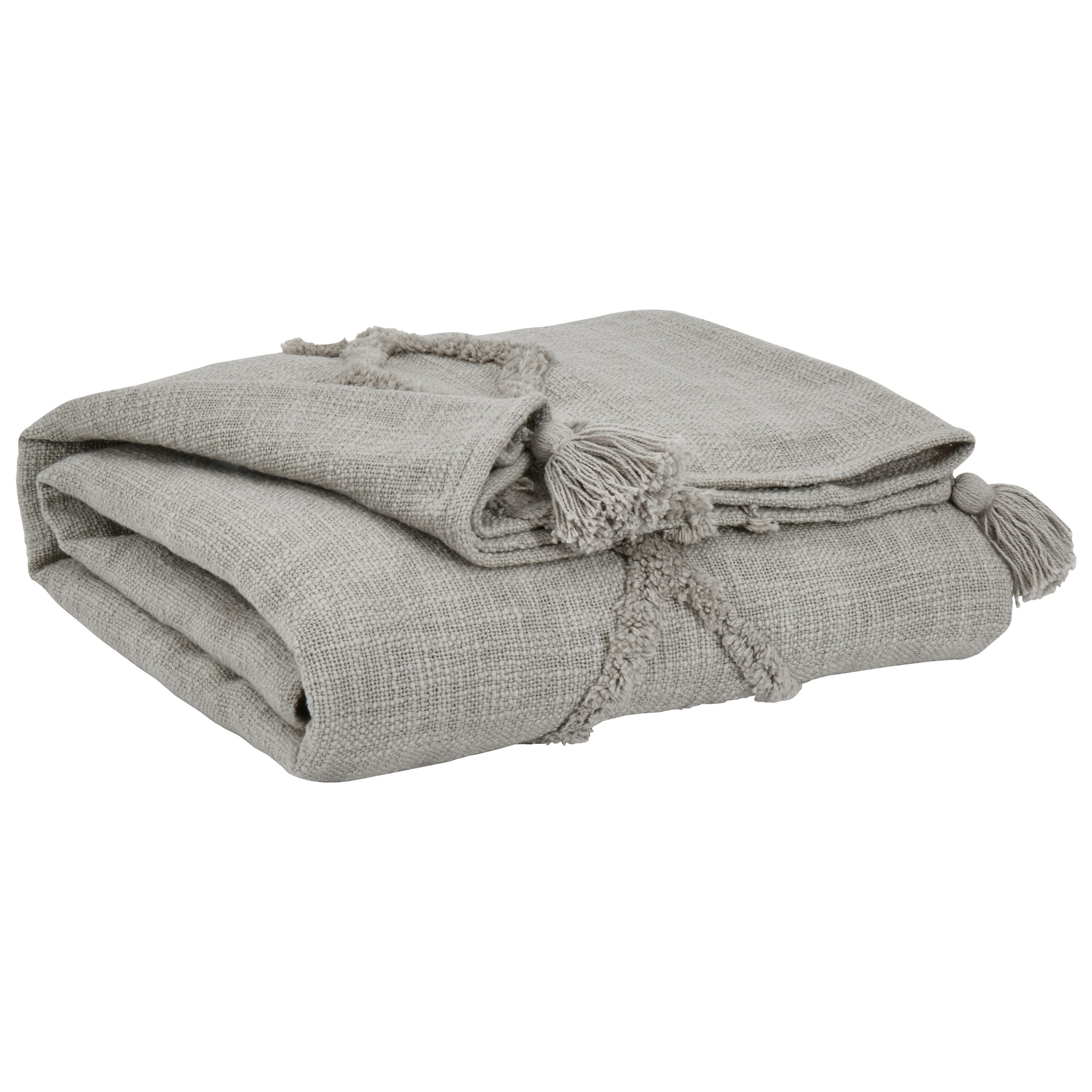 Throws Kassidy Gray Throw by Ashley (Signature Design) at Johnny Janosik