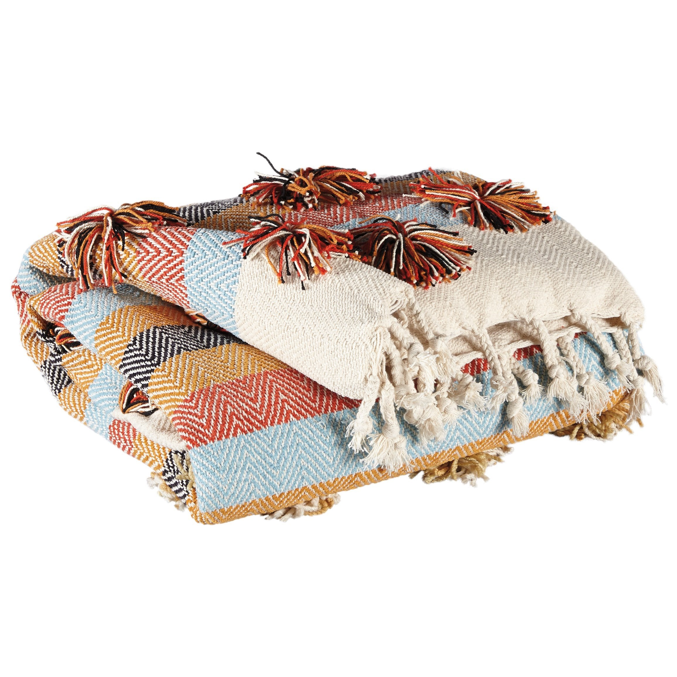 Throws Jacinta Multicolor Throw by Ashley (Signature Design) at Johnny Janosik