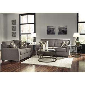 6 Piece Stationary Living Room Group