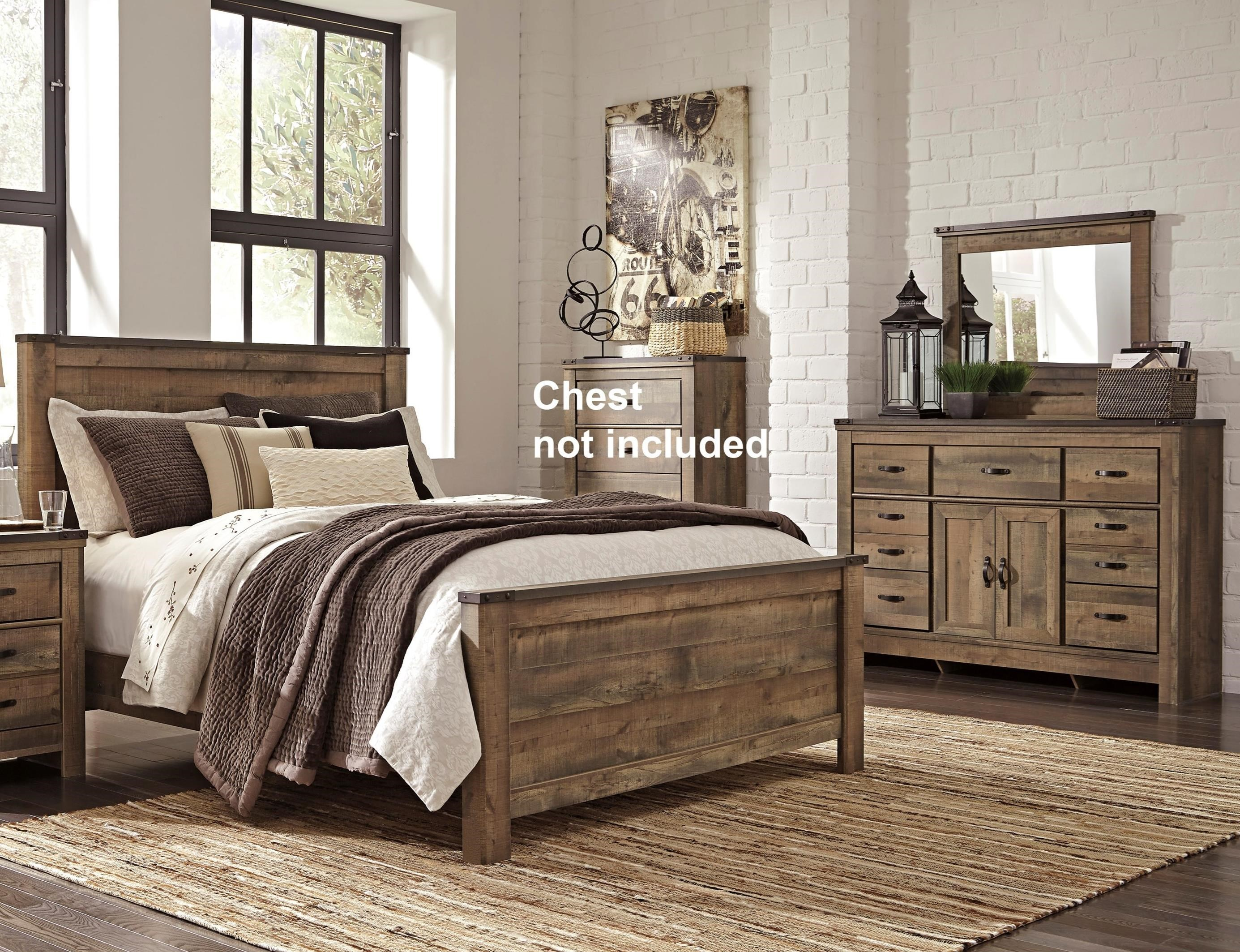 Trinell King Bedroom Group by Signature Design by Ashley at Northeast Factory Direct