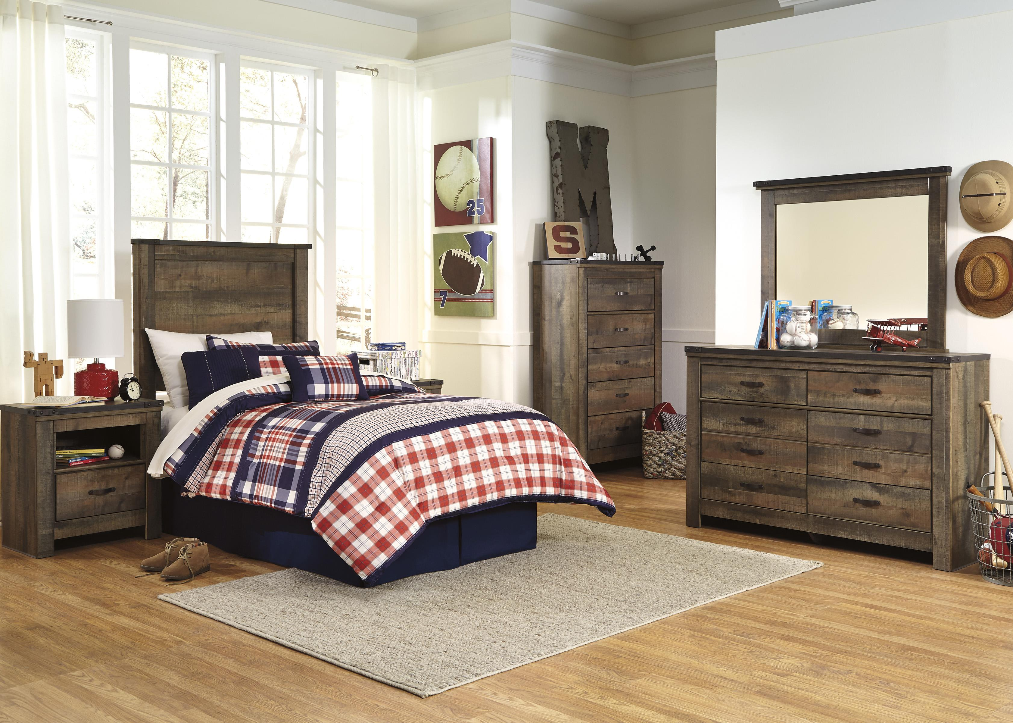 Trinell Twin Bedroom Group by Signature Design by Ashley at Household Furniture