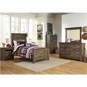 5pc Twin Bedroom Group