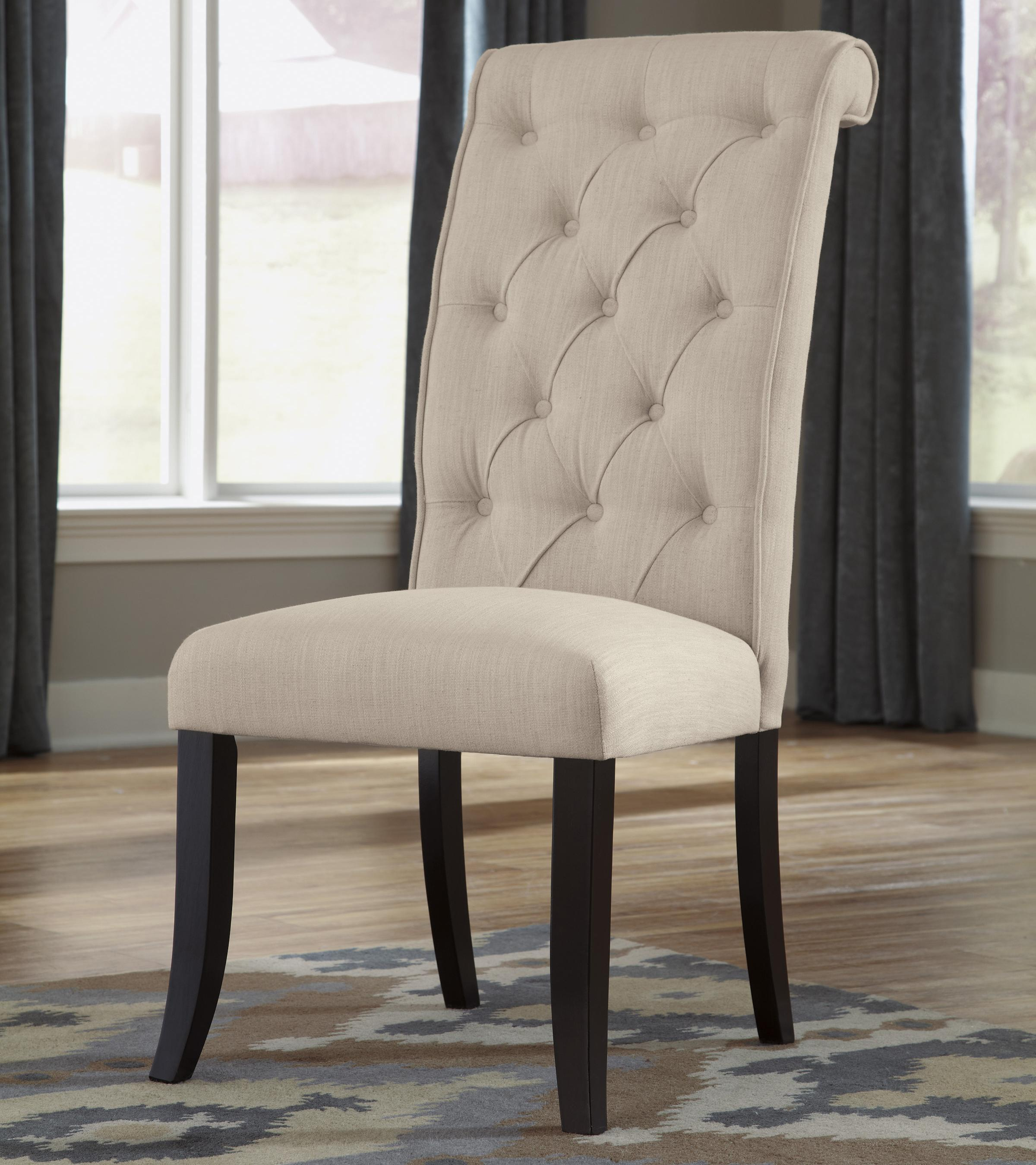 Tripton Dining Upholstered Side Chair by Signature Design by Ashley at Godby Home Furnishings