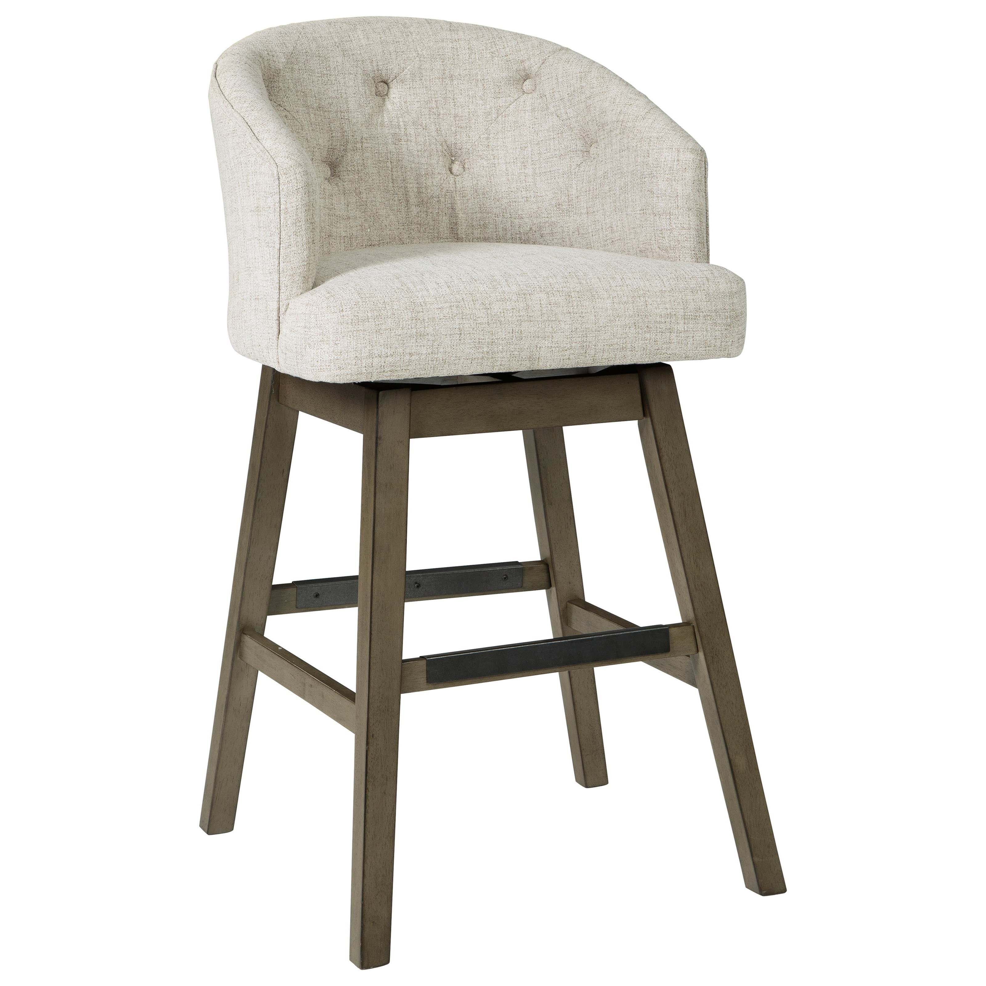 Tripton Tall Swivel Barstool by Signature Design by Ashley at Northeast Factory Direct
