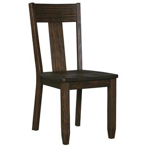 Solid Wood Pine Dining Room Side Chair