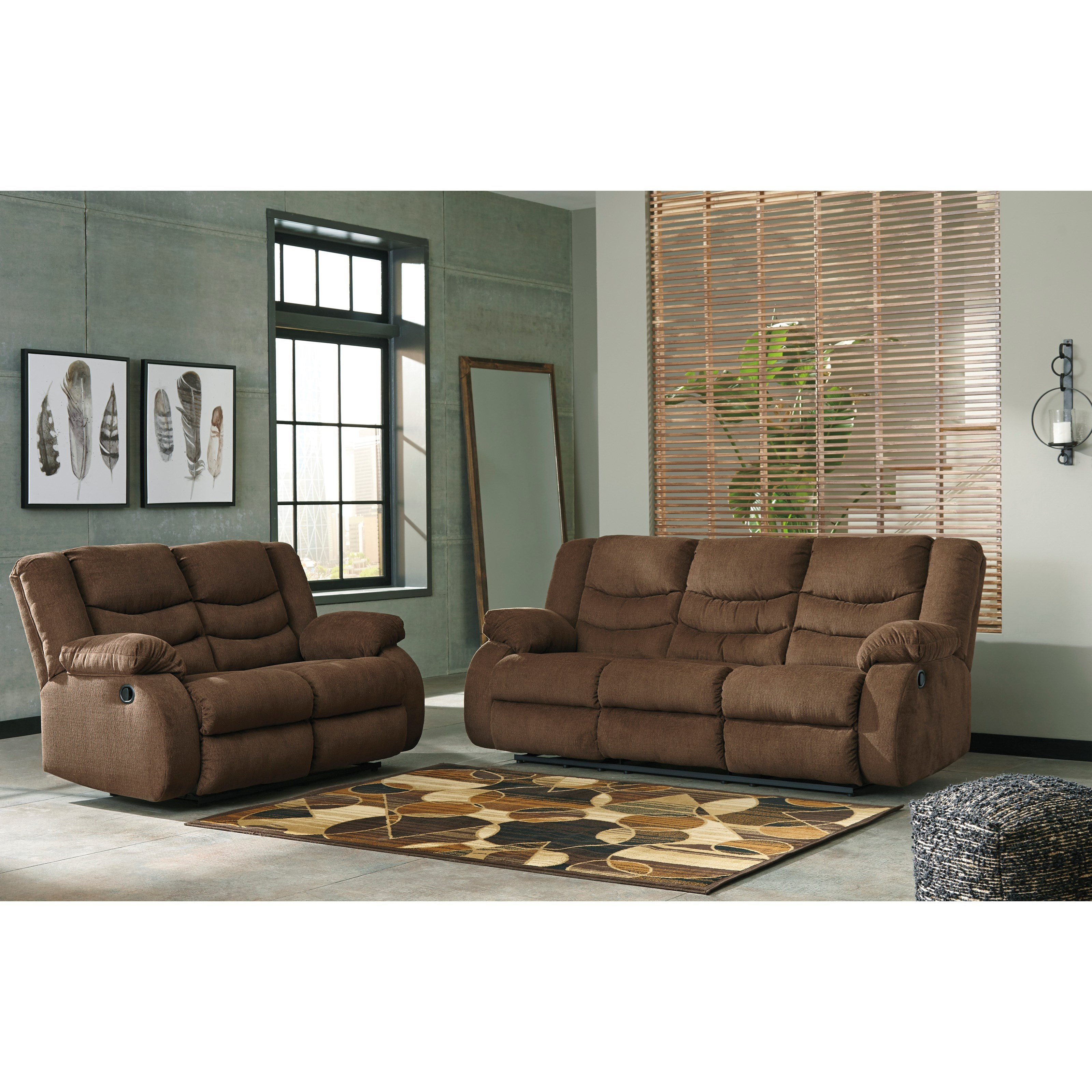 Tulen Reclining Living Room Group by Signature Design by Ashley at Catalog Outlet