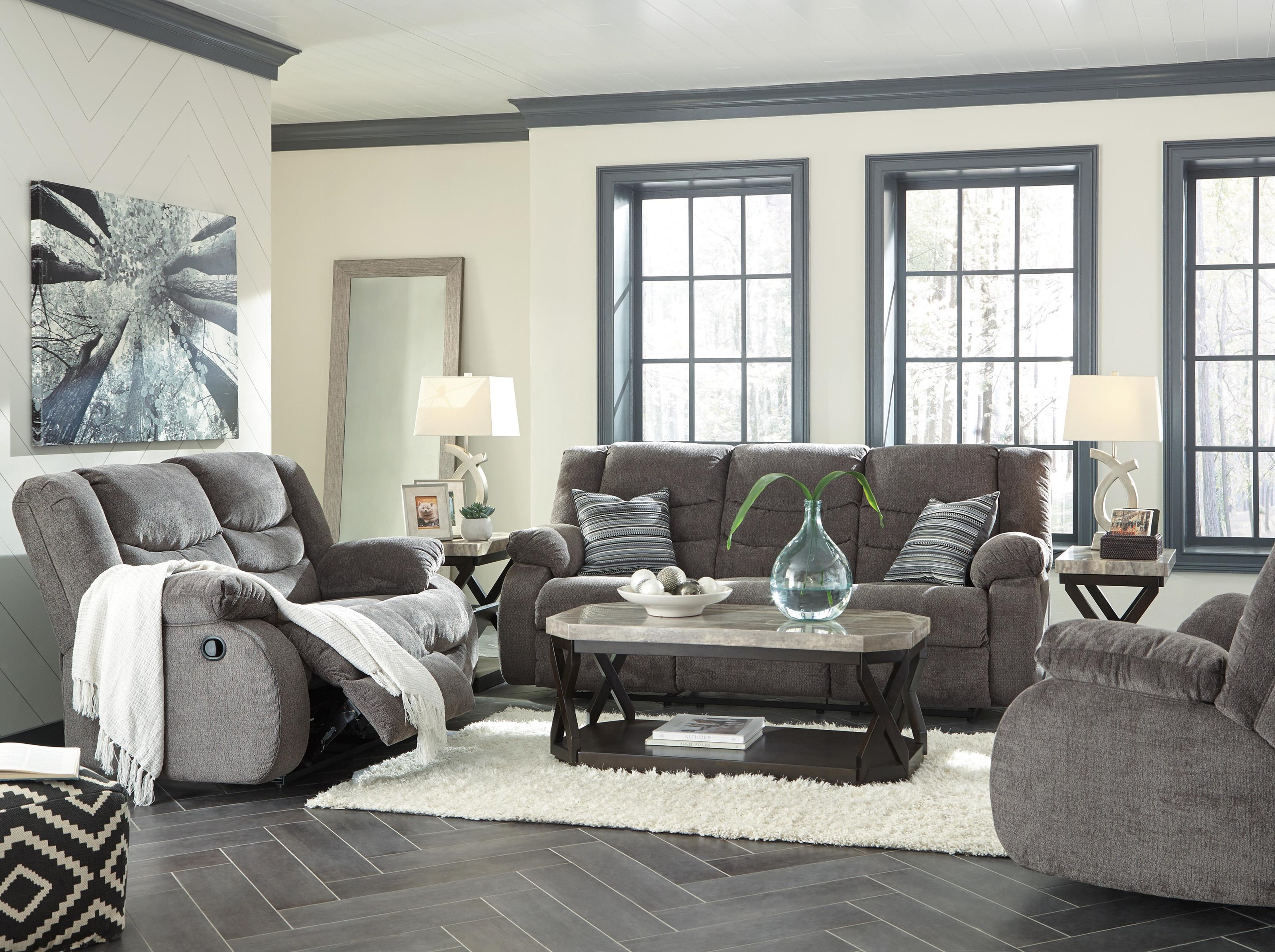 Tulen Recliner Sofa and Recliner Set by Signature Design by Ashley at Sam Levitz Outlet