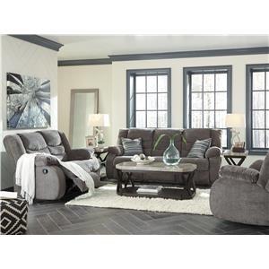 Recliner Sofa and Recliner Set
