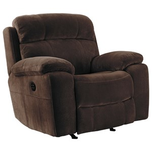 Signature Design by Ashley Uhland Power Recliner with Adjustable Headrest
