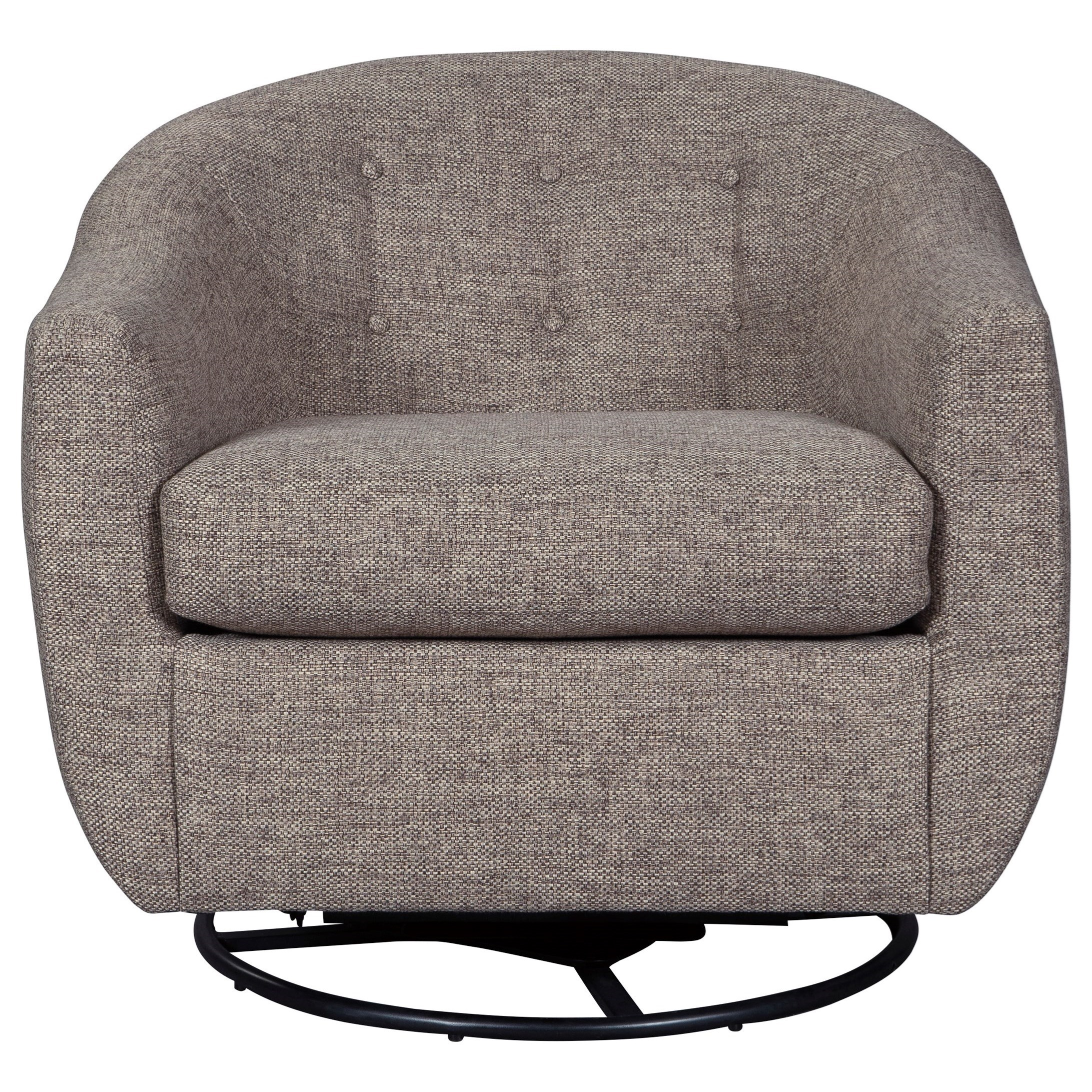 Upshur Swivel Glider Accent Chair by Signature at Walker's Furniture