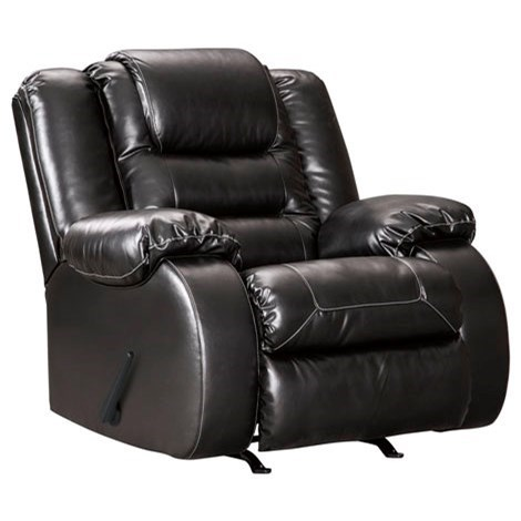 Vacherie Rocker Recliner by Signature Design by Ashley at Furniture and ApplianceMart