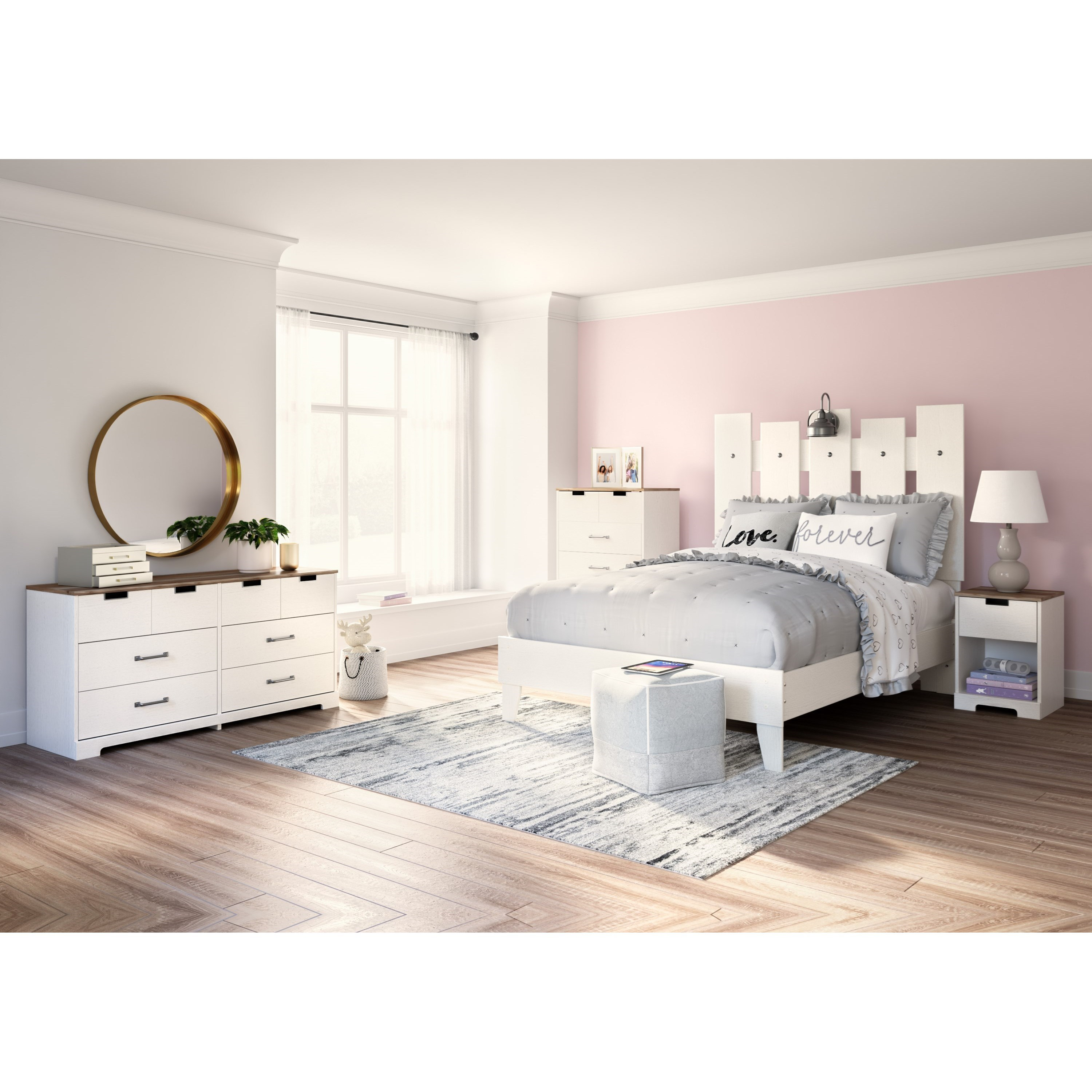 Vaibryn Full Bedroom Group by Signature Design by Ashley at Smart Buy Furniture