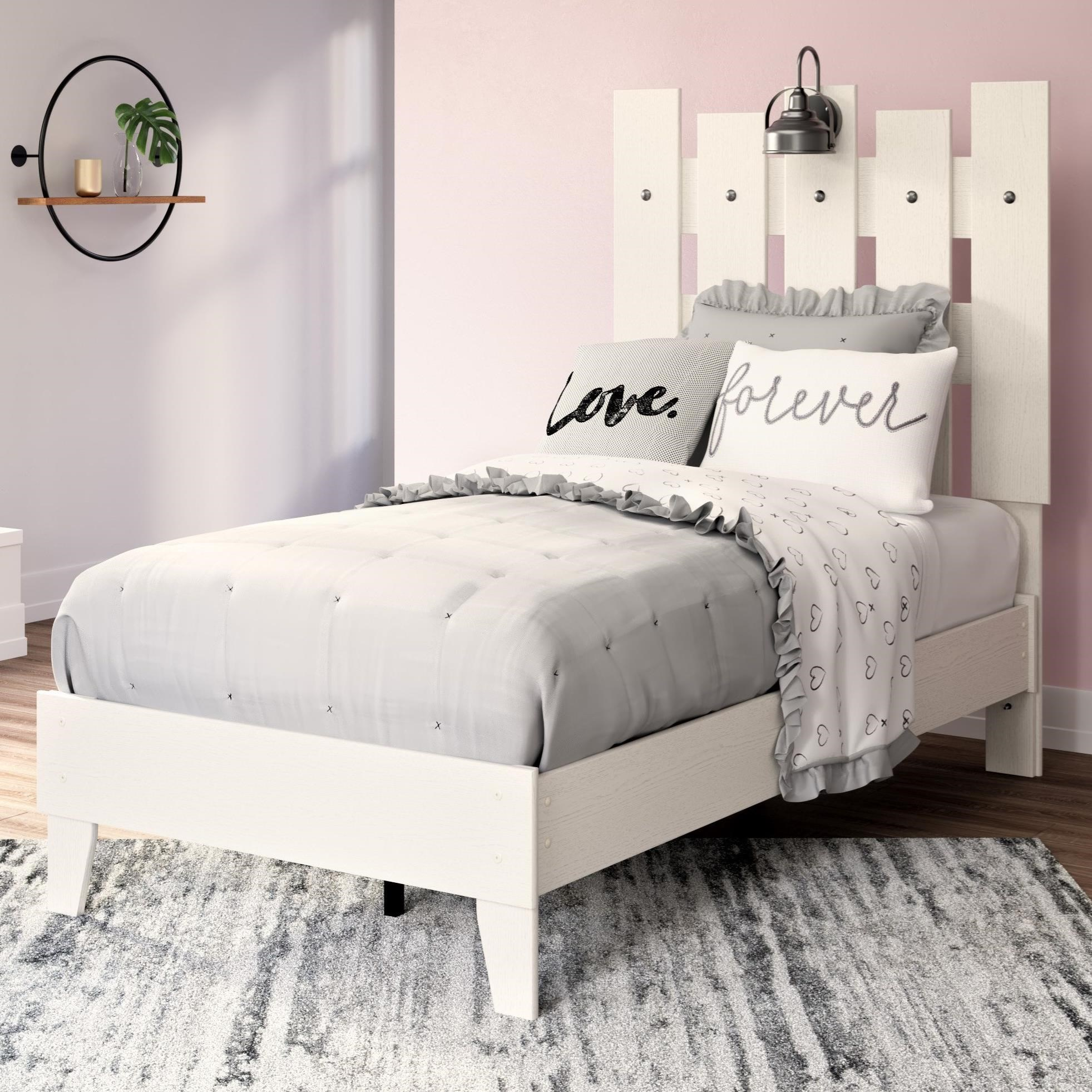 Vaibryn Twin Panel Platform Bed by Signature Design by Ashley at Northeast Factory Direct