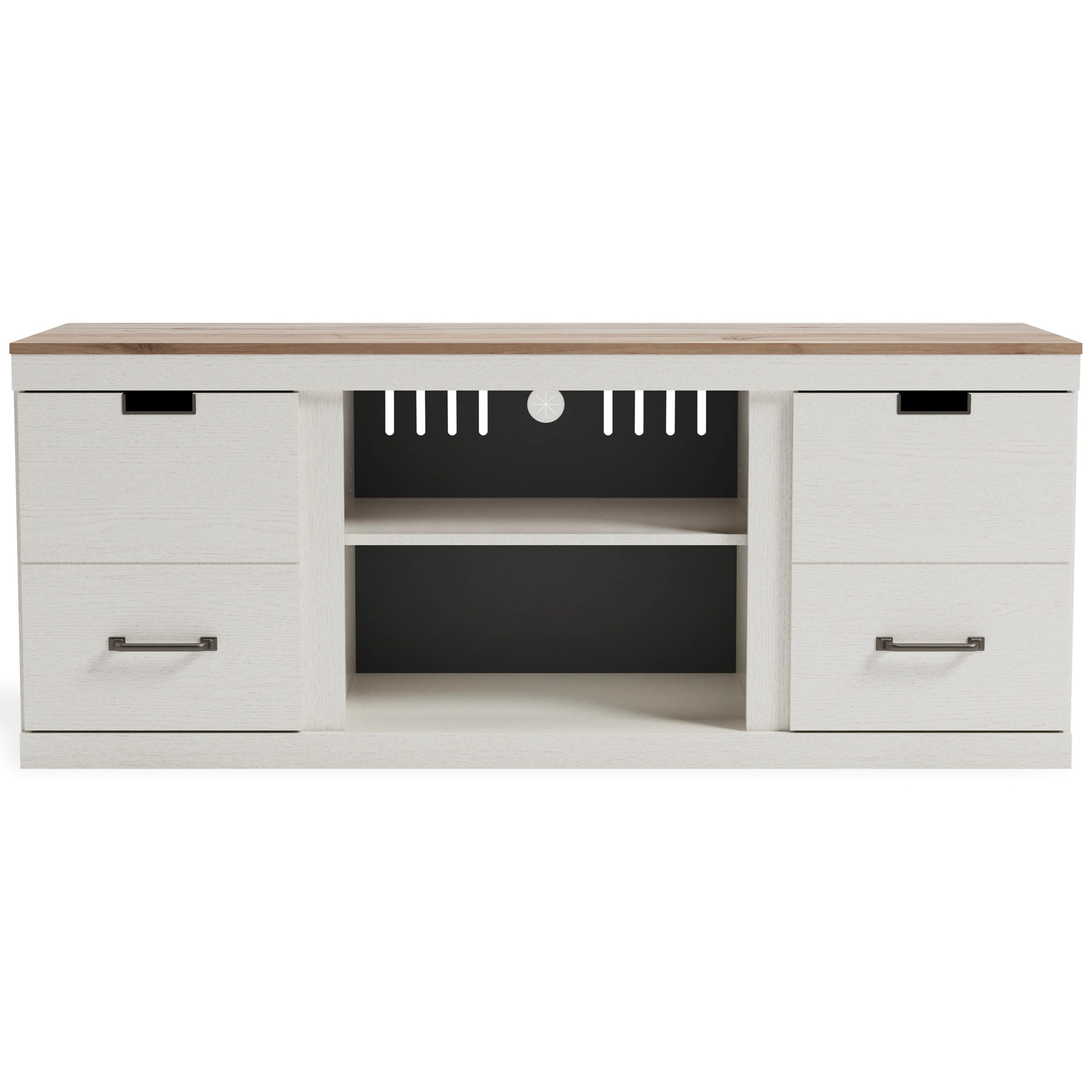 """Vaibryn 60"""" TV Stand by Signature Design by Ashley at Furniture Barn"""