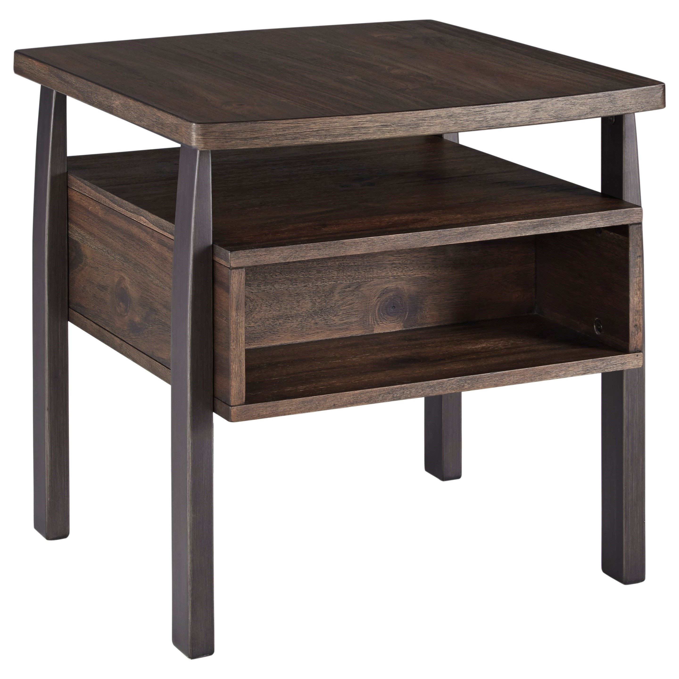 Vailbry Rectangular End Table by Signature Design by Ashley at Northeast Factory Direct