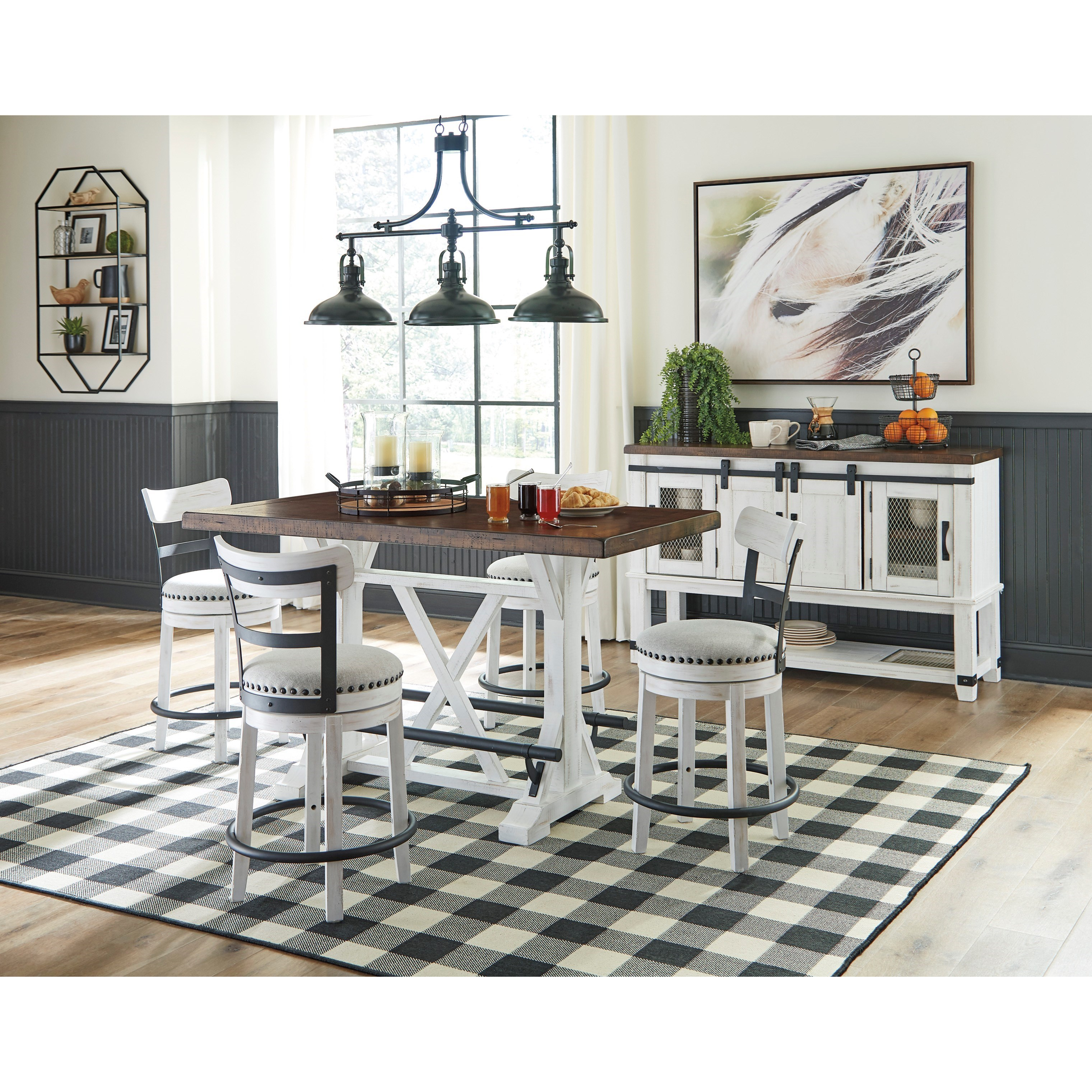 Valebeck Casual Dining Room Group by Ashley (Signature Design) at Johnny Janosik