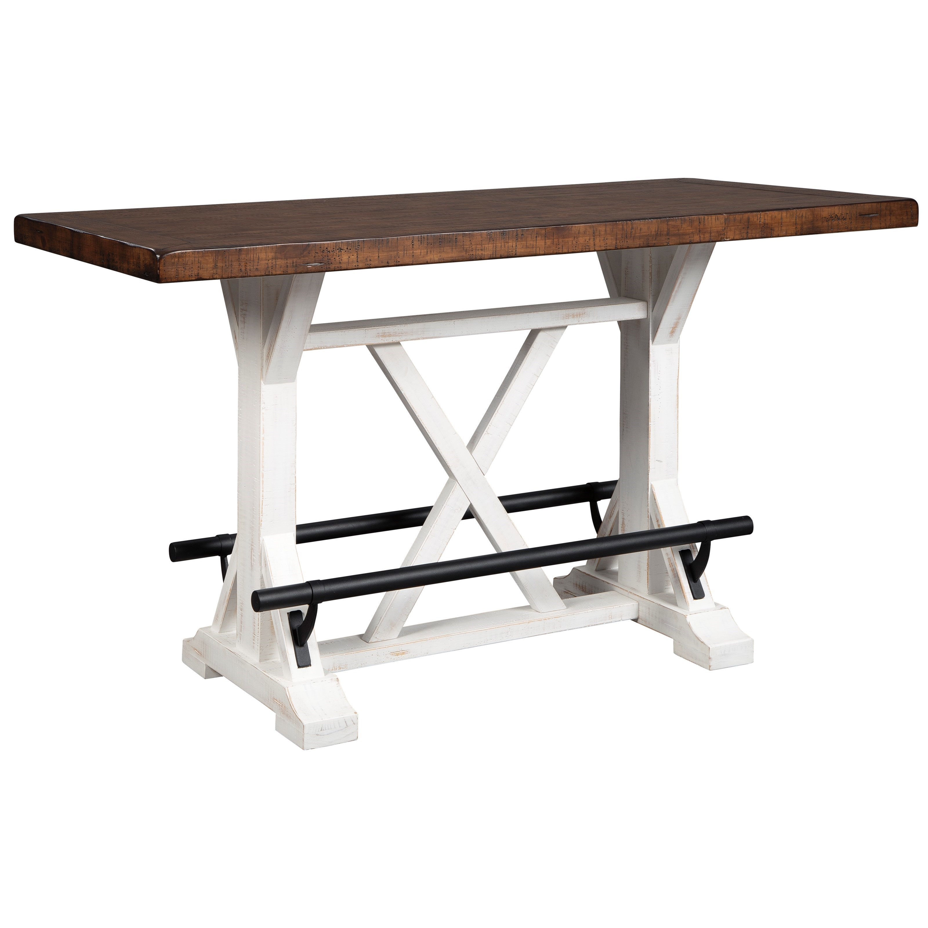 Valebeck Counter Height Dining Table by Signature Design by Ashley at Beck's Furniture