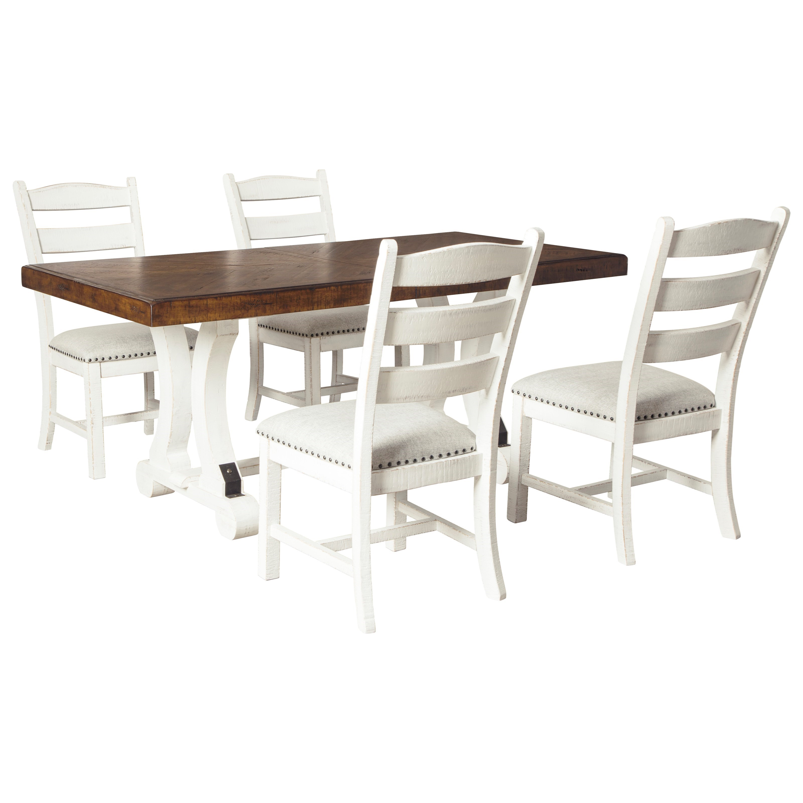 Valebeck 5-Piece Table and Chair Set by Ashley (Signature Design) at Johnny Janosik