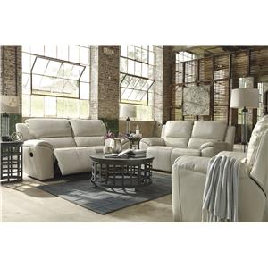 Signature Design by Ashley Valeton Reclining Living Room Group
