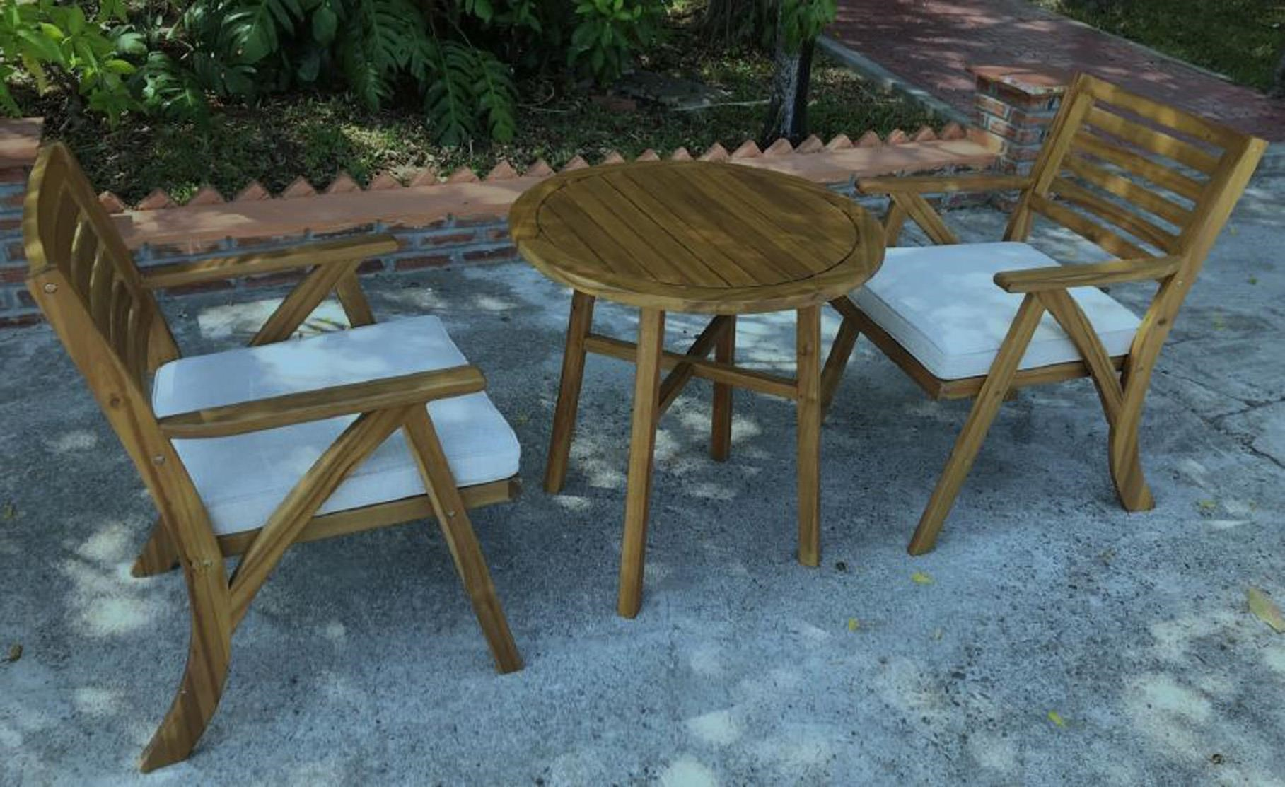 Vallerie Table and 2 Chairs Bisto Set by Ashley (Signature Design) at Johnny Janosik