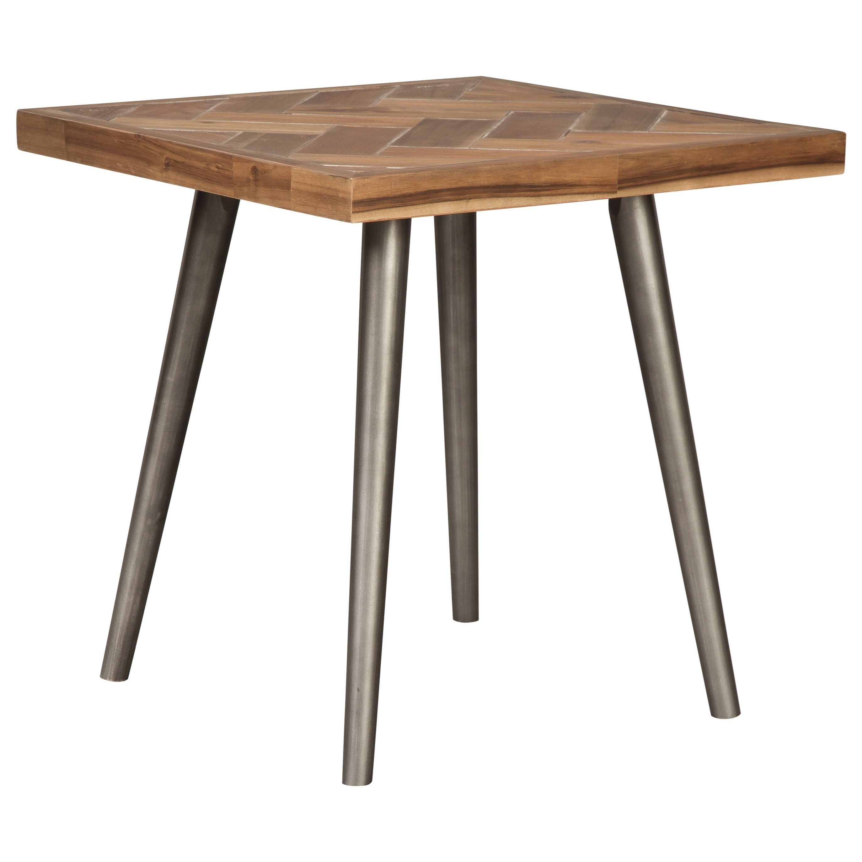 Vantori End Table by Signature Design by Ashley at HomeWorld Furniture