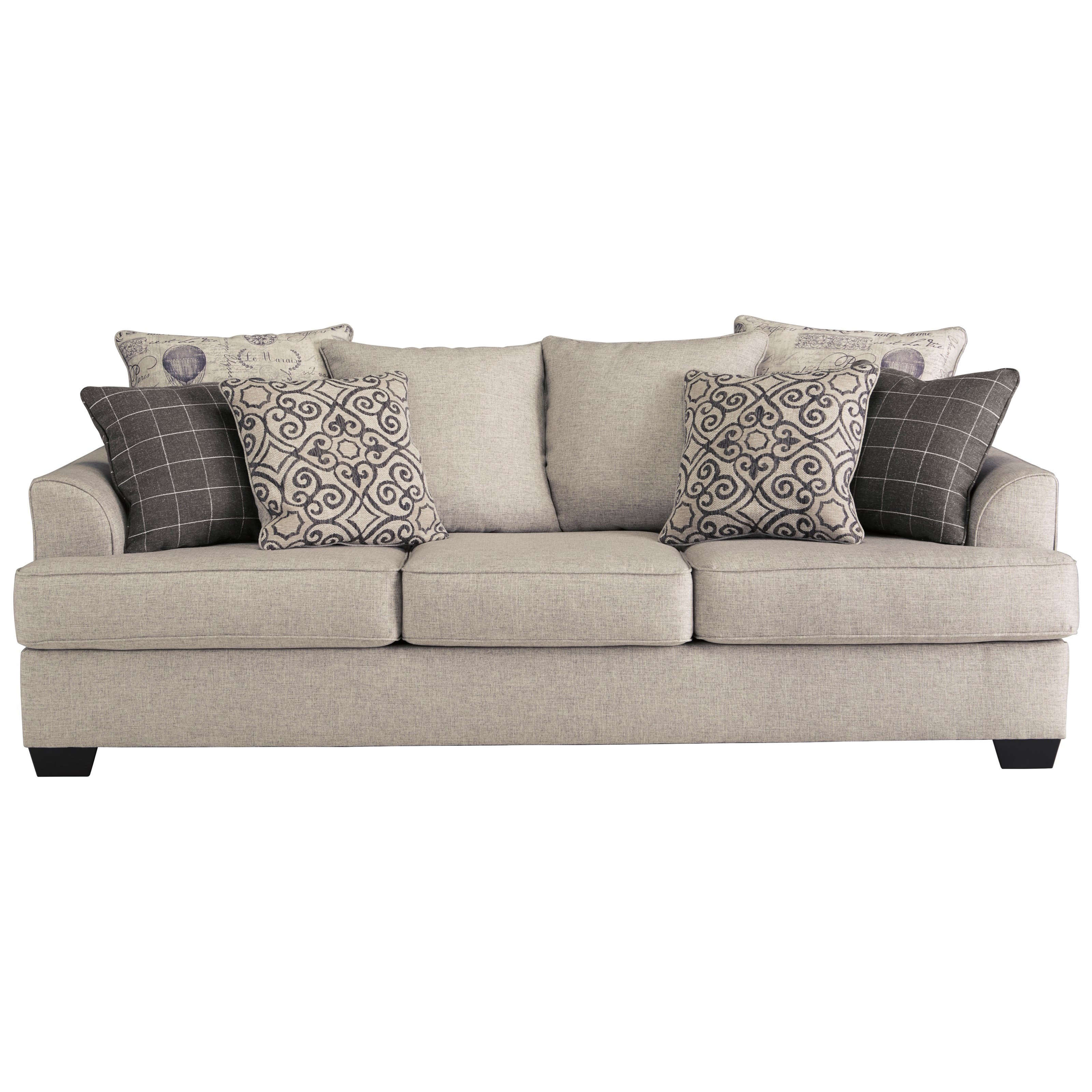Velletri Queen Sofa Sleeper by Signature Design by Ashley at Suburban Furniture