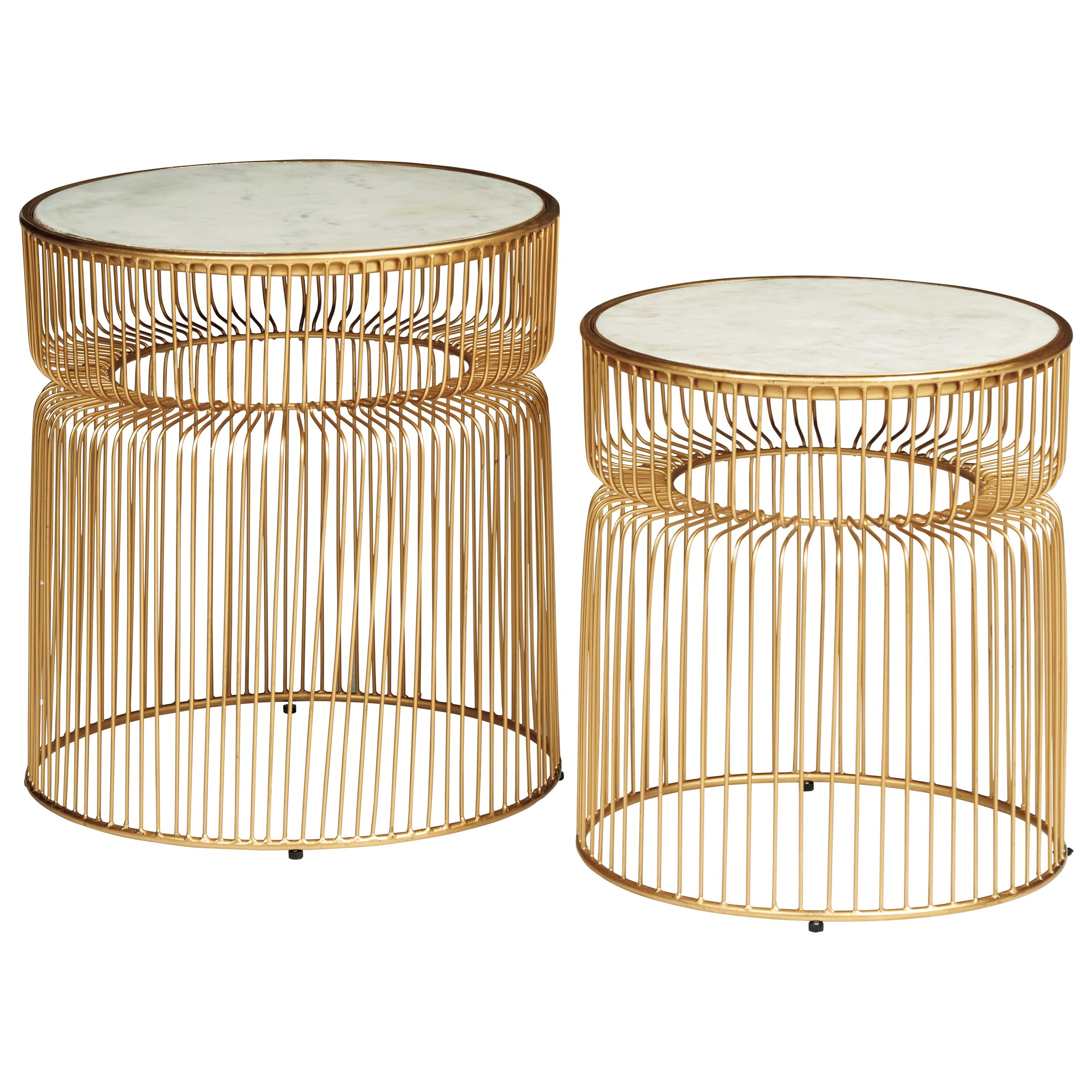 Vernway Accent Table Set by Signature at Walker's Furniture