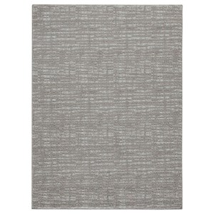 Norris Taupe/White Large Rug