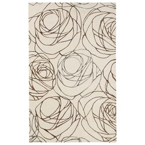 Signature Design by Ashley Casual Area Rugs Finian Rust/Brown/Tan Large Rug