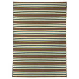 Matchy Lane Brown/Blue/Green Large Rug